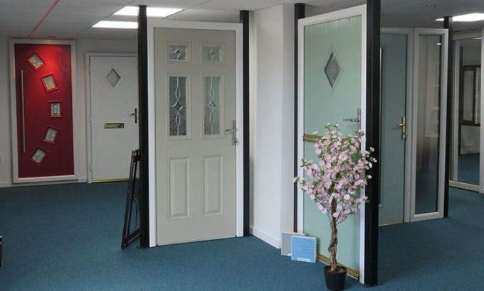 A New Composite or uPVC Double Glazed Door