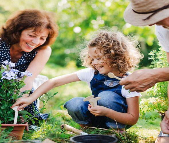 Gardening Officially Cool say Young People